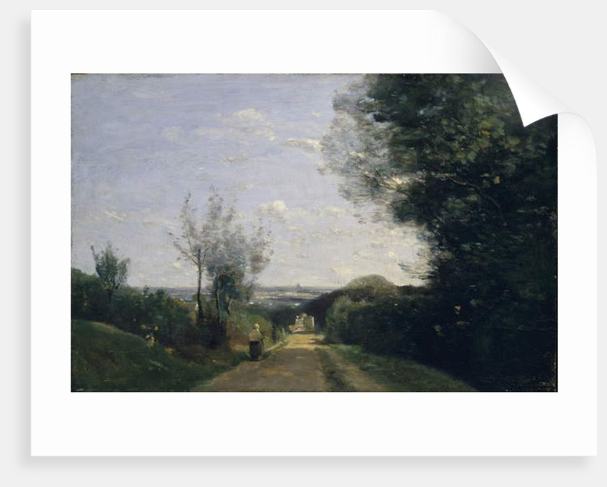 The Environs of Paris, 1860s by Jean Baptiste Camille Corot