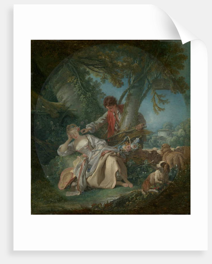 The Interrupted Sleep, 1750 by Francois Boucher