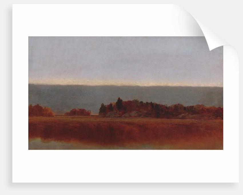 Salt Meadow in October, 1872 by John Frederick Kensett