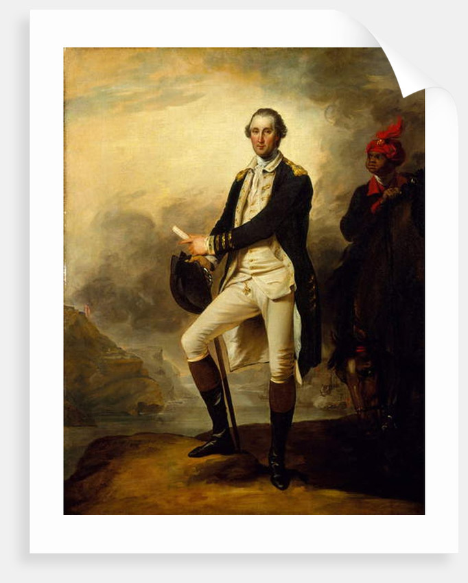 George Washington, 1780 by John Trumbull