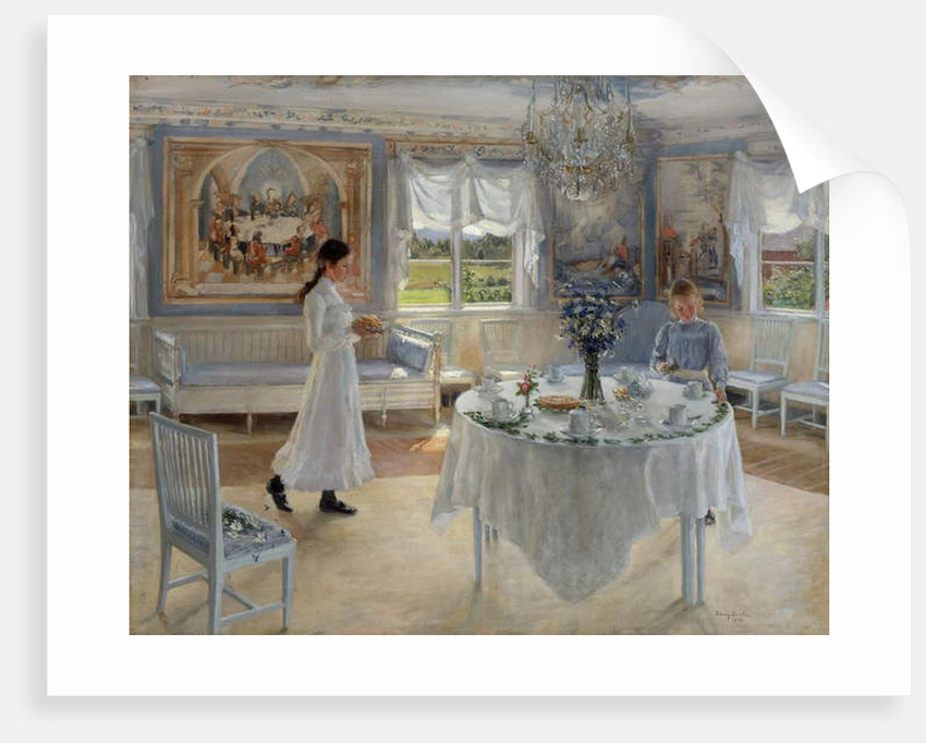 A Day of Celebration, 1902 by Fanny Brate