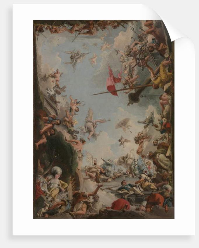 The Glorification of the Giustiniani Family, 1783 by Giandomenico Tiepolo