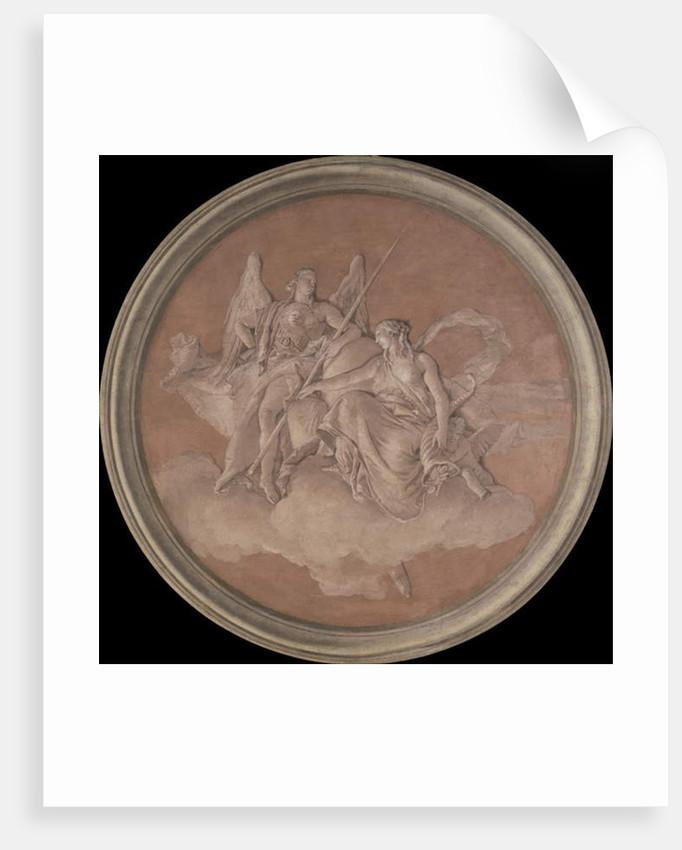 Virtue and Abundance, 1760 by Giovanni Battista Tiepolo