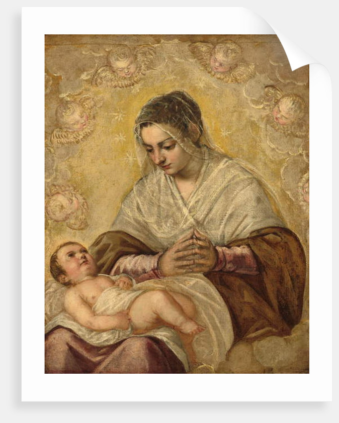 The Madonna of the Stars, c.1550-90 by Jacopo Robusti Tintoretto