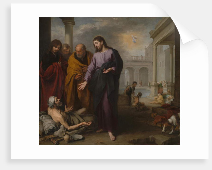 Christ healing the Paralytic at the Pool of Bethesda, 1667-70 by Bartolome Esteban Murillo