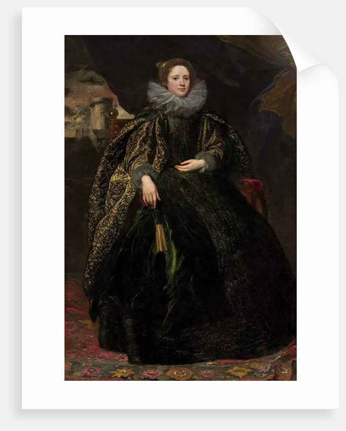 Marchesa Balbi, c.1623 by Anthony van Dyck