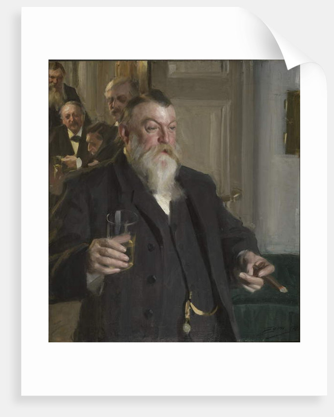 A Toast in the Idun Society, 1892 by Anders Leonard Zorn