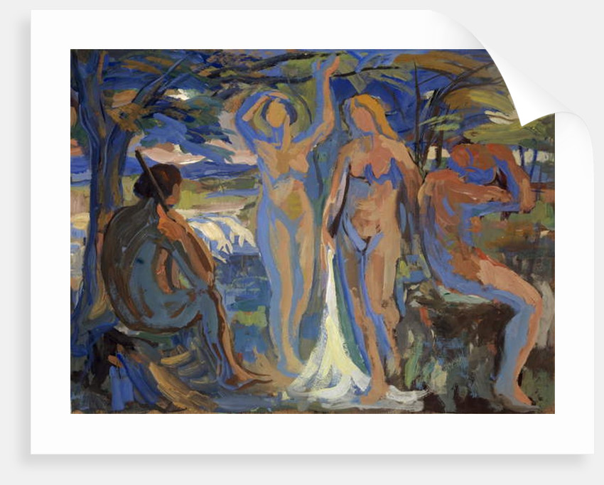 The Judgement of Paris, c.1913-15 by Paul Altherr
