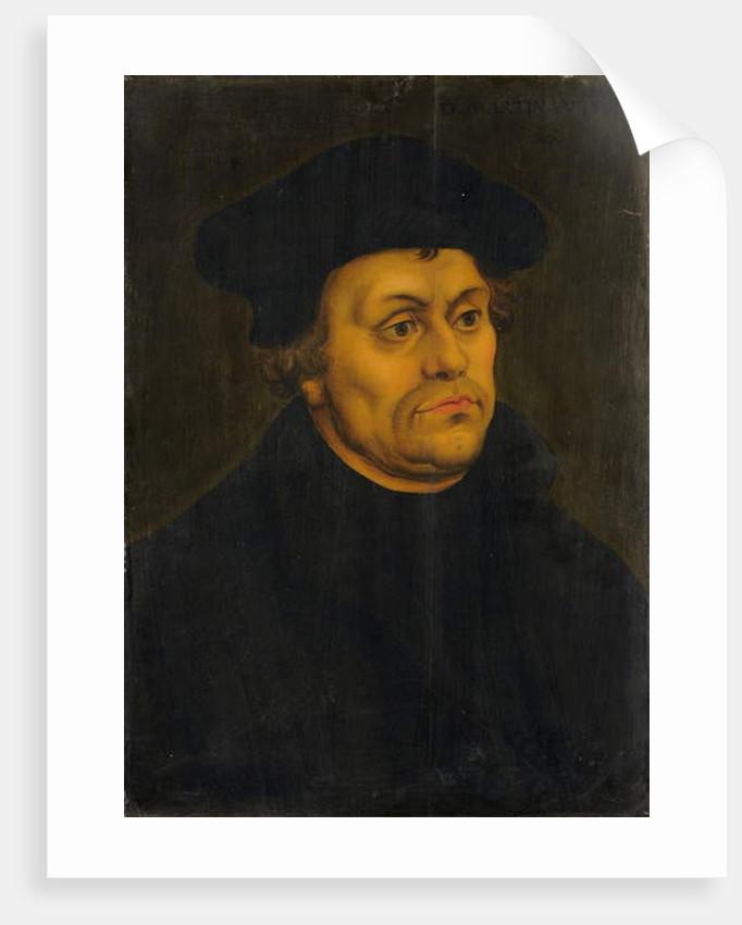 Portrait of Martin Luther by Lucas the Elder Cranach