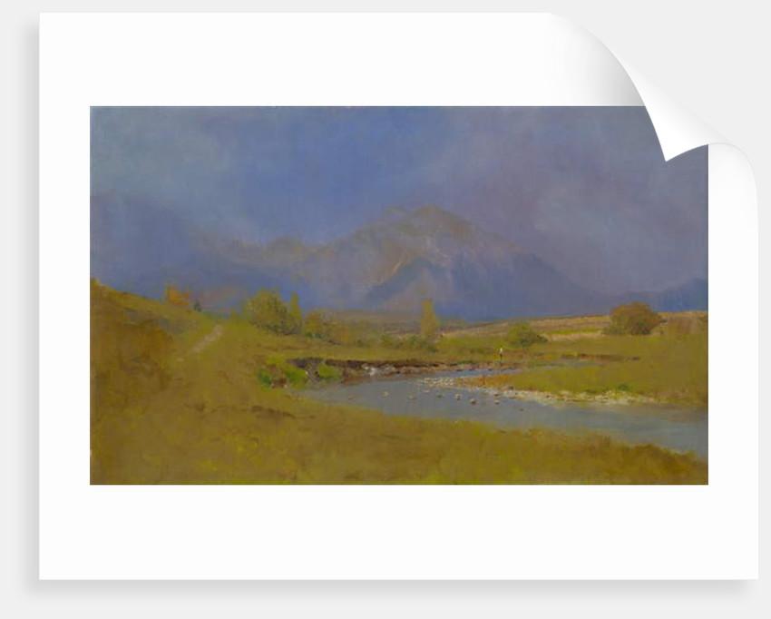 Podtatranská landscape after spring rain, 1878-79 by Laszlo Mednyanszky