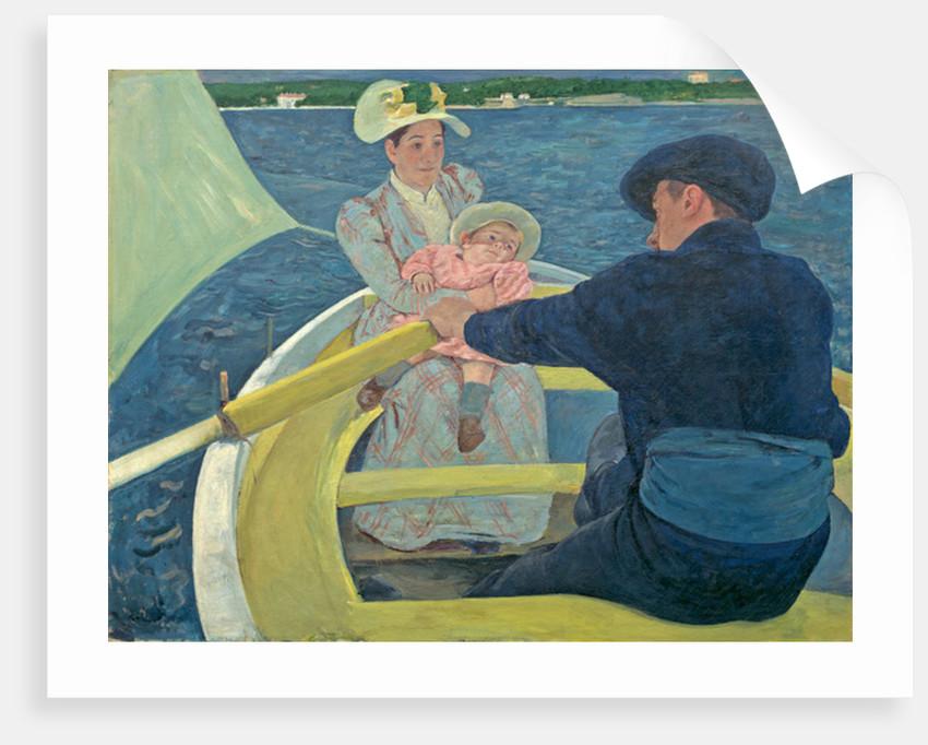 The Boating Party by Mary Stevenson Cassatt