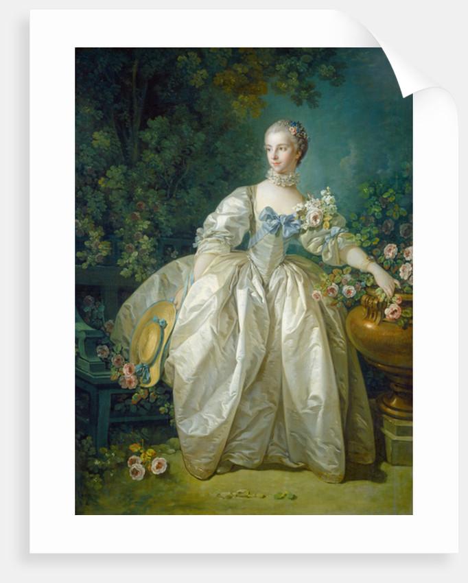 Madame Bergeret by Francois Boucher