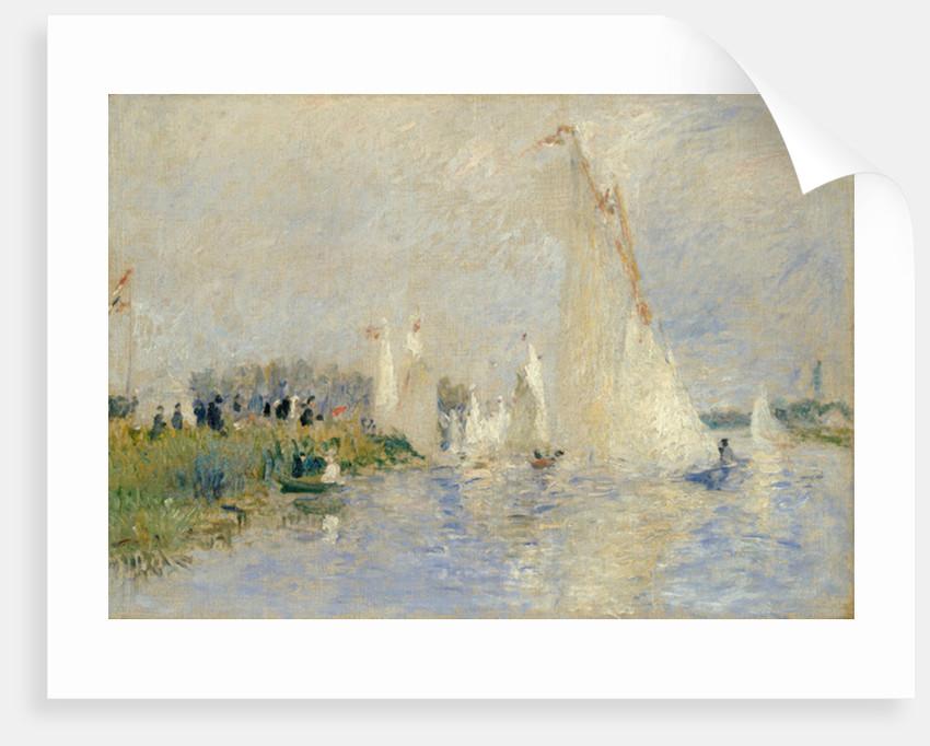 Regatta at Argenteuil by Pierre Auguste Renoir