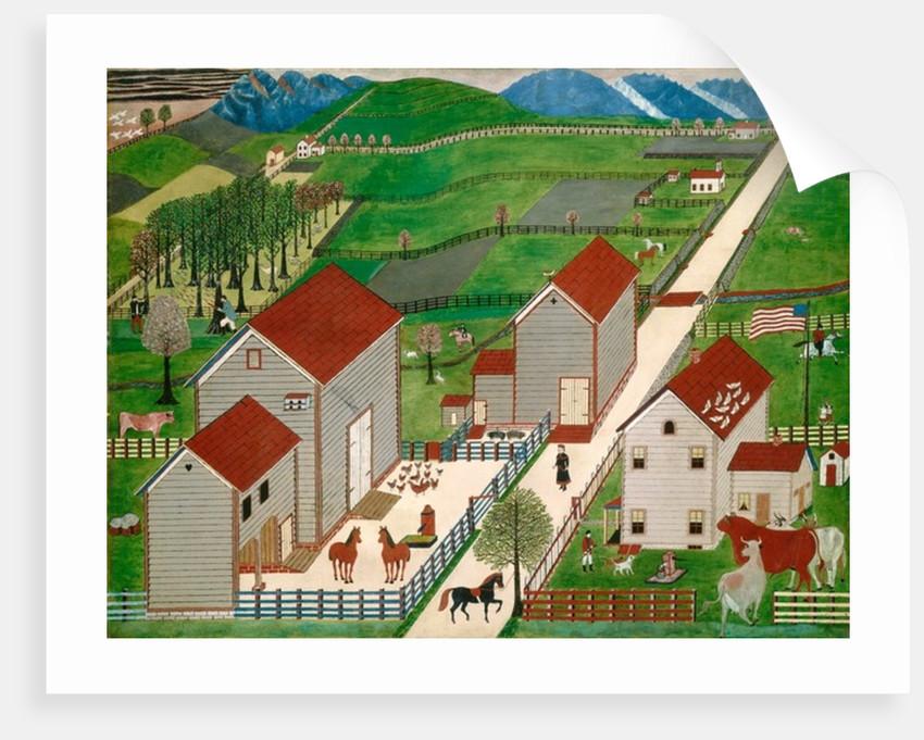 Mahantango Valley Farm by American School