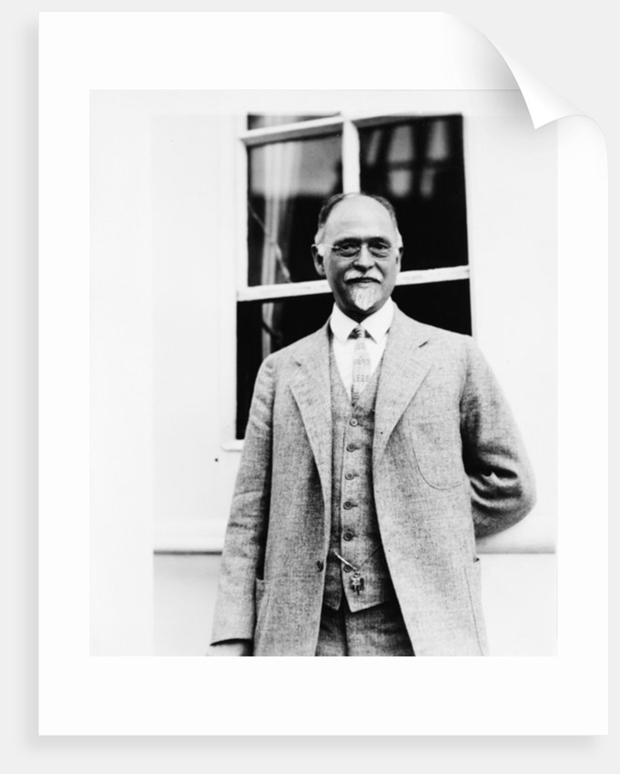 Professor Irving Fisher by American Photographer