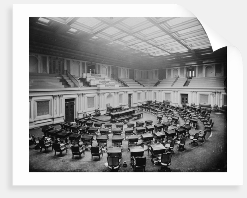 U.S. Capitol - Seventh Chamber by American Photographer