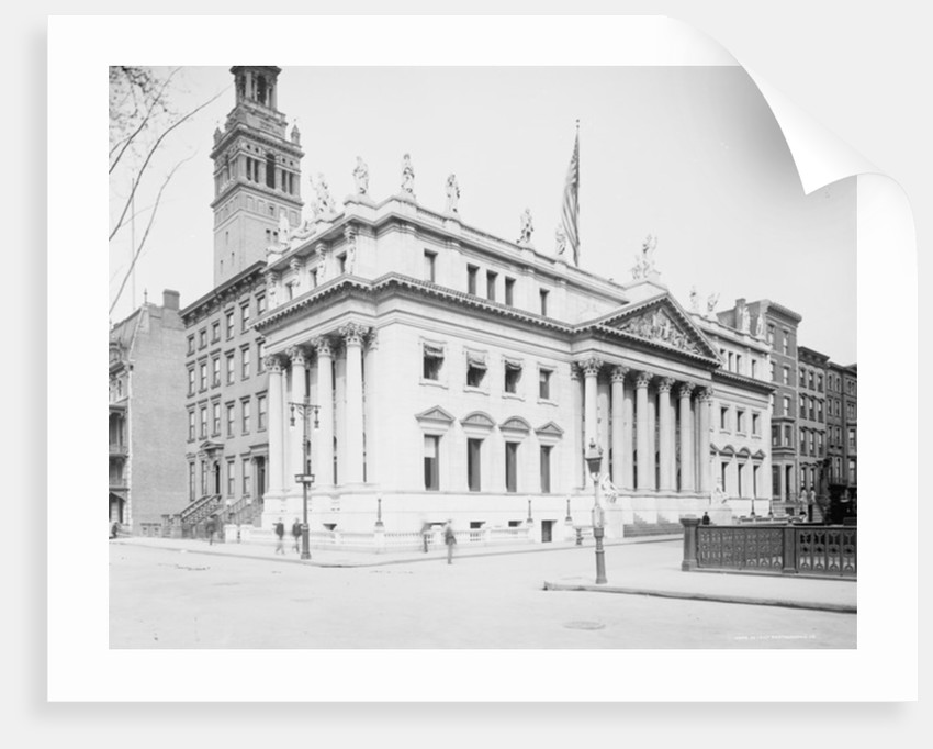 Appellate Courte Building, New York, N.Y. by Anonymous