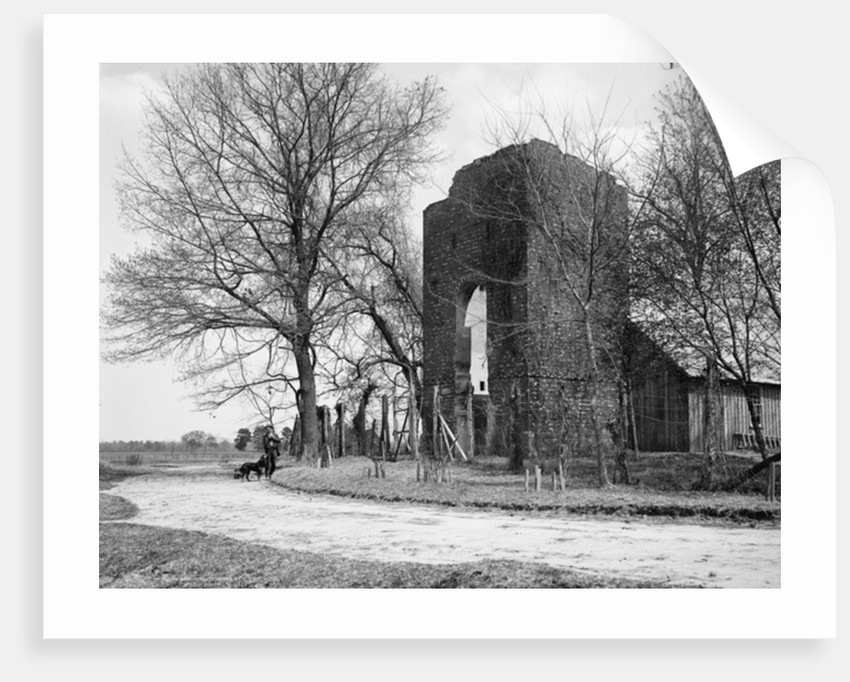Old Church, Jamestown, Va by Anonymous