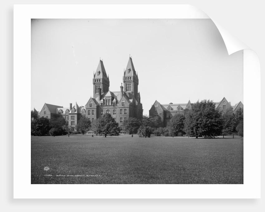 Buffalo State Hospital, Buffalo, N.Y. by Detroit Publishing Co.