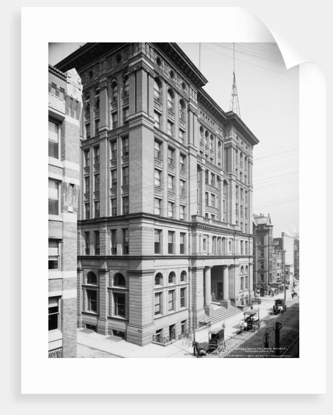 Philadelphia Bourse, Philadelphia, Pennsylvania by Detroit Publishing Co.