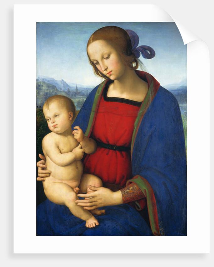 Madonna and Child by Pietro Perugino