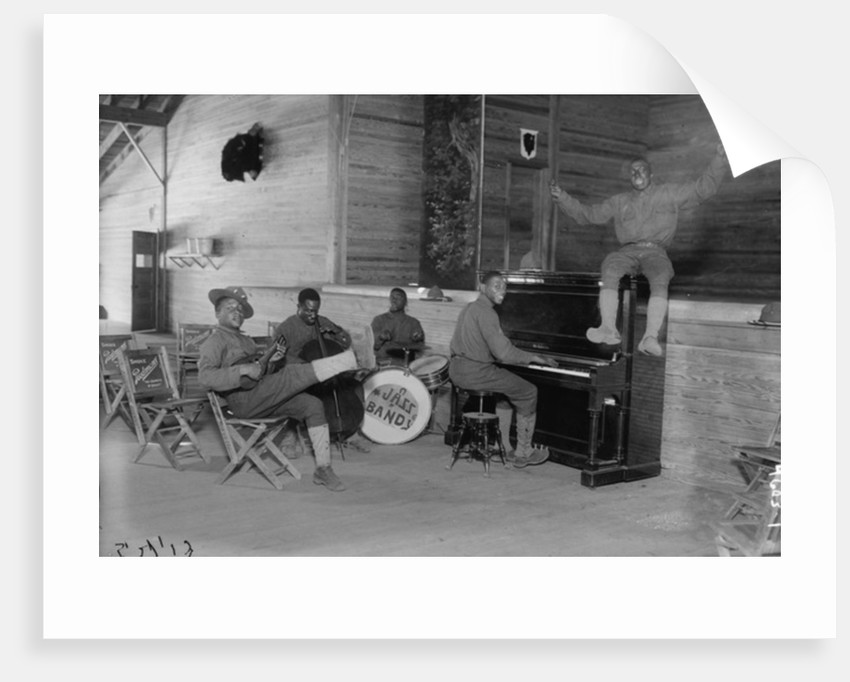 US Army Jazz Band by American Photographer