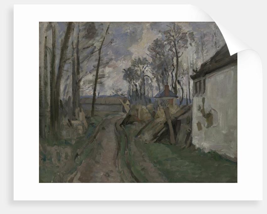 A Village Road near Auvers by Paul Cezanne