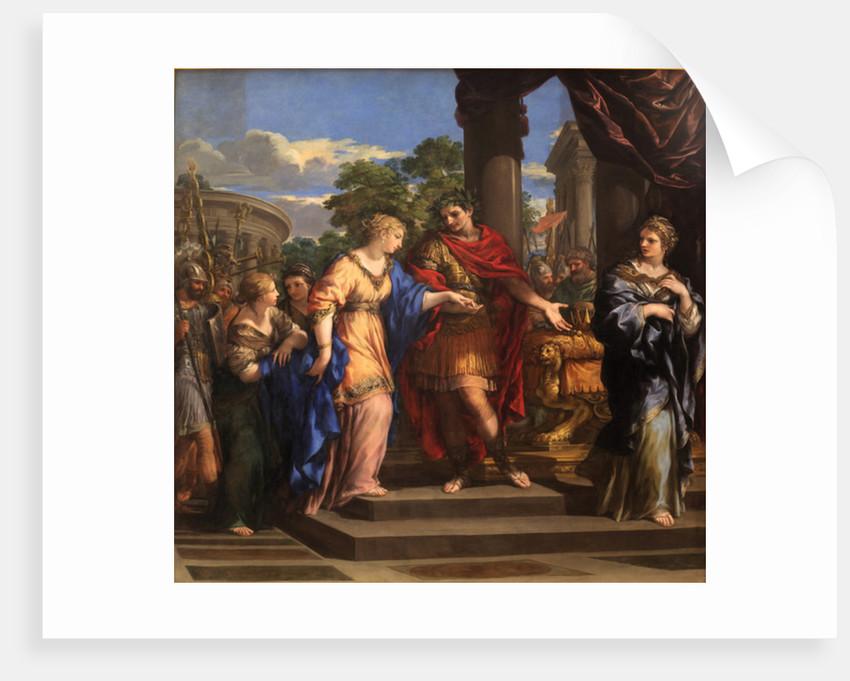 Caesar giving Cleopatra the Throne of Egypt by Pietro da Cortona