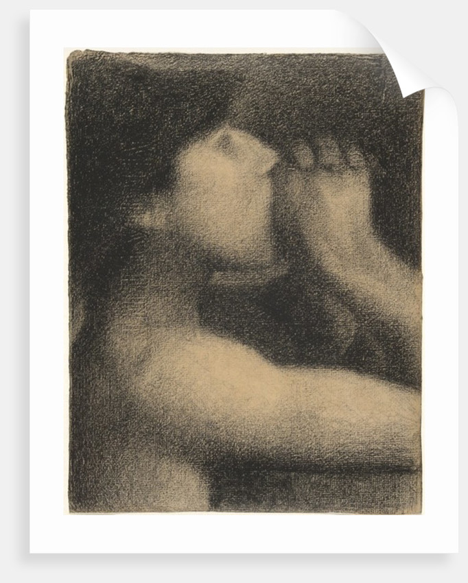 Echo, Study for 'Bathers at Asnieres' by Georges Pierre Seurat