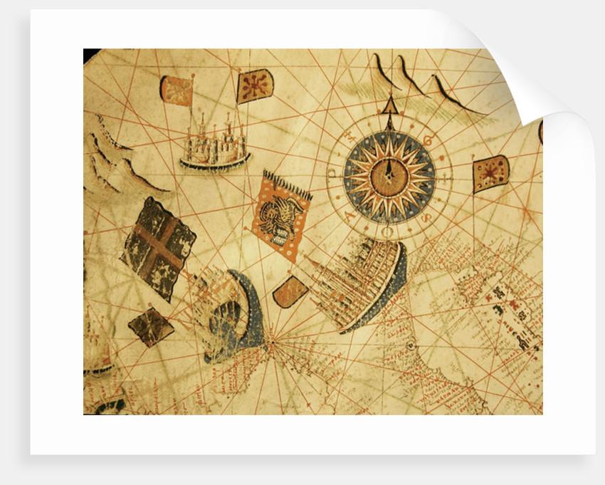 The maritime cities of Genoa and Venice by Calopodio da Candia