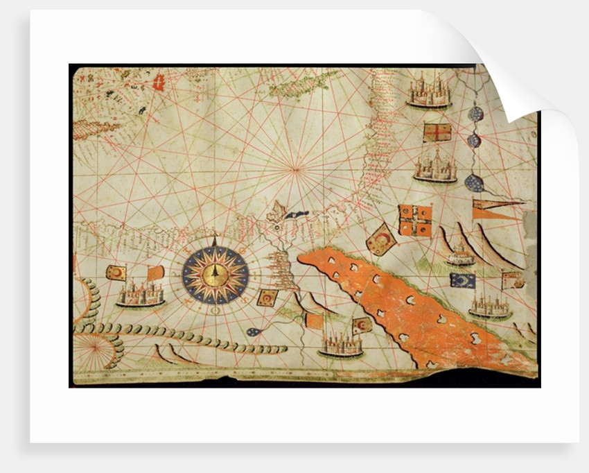 Egypt and the Red Sea by Calopodio da Candia
