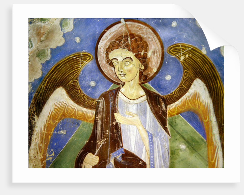 Angel from the east wall by Anonymous
