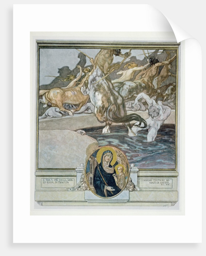 Inferno, Canto XII: 55 by Franz von Bayros