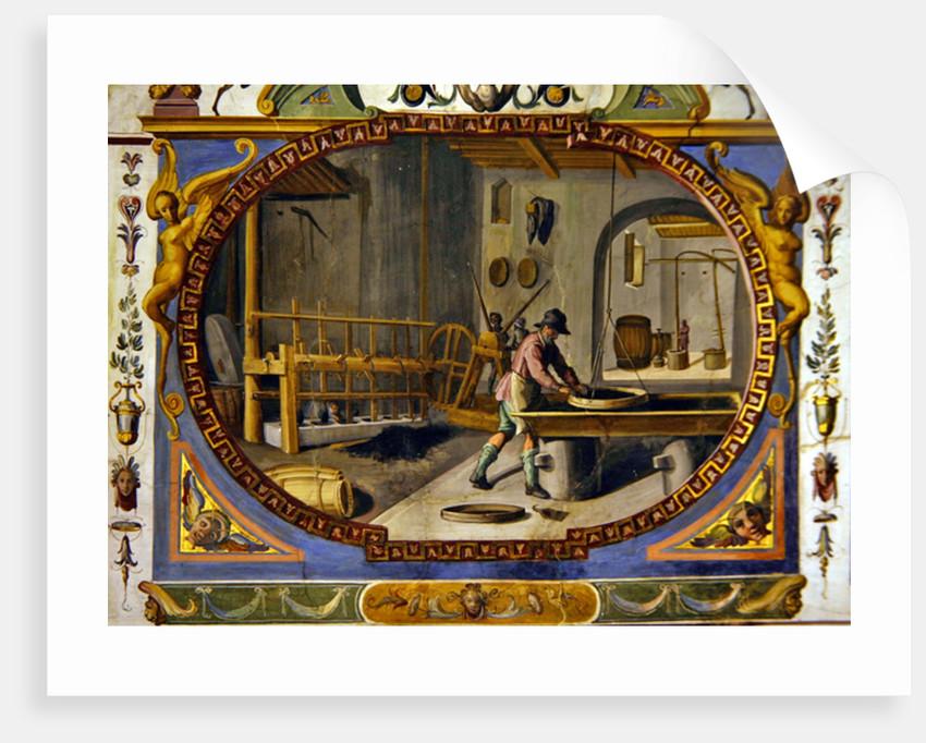 The production of gun powder by Lodovico Buti