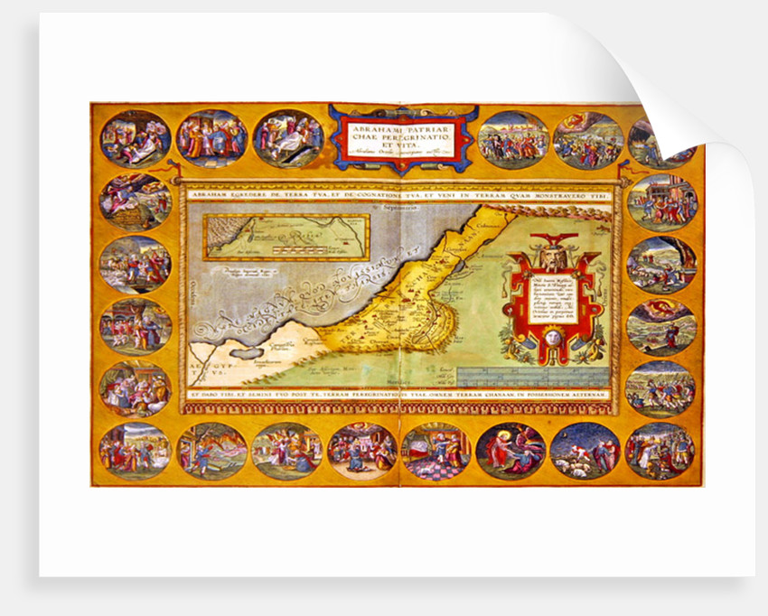 The Peregrinations of Abraham by Abraham Ortelius