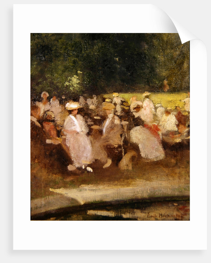 Summer in the Park by Emile Hoeterickx