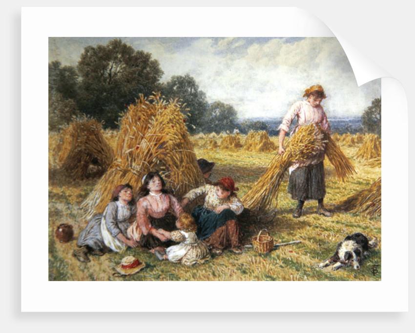 The Cornfield by Myles Birket Foster