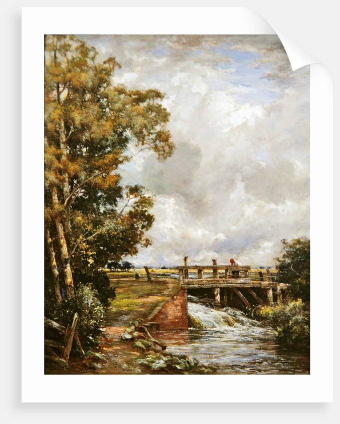 The Sluice by Claude Hayes