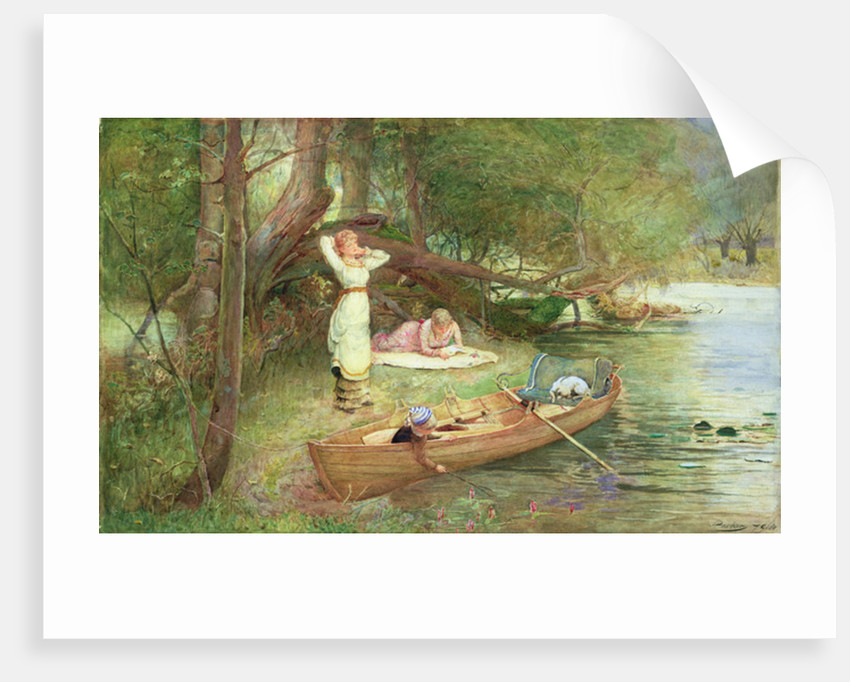 A Day on the River by John Parker