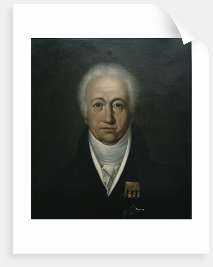 Portrait of Goethe by Ferdinand Jagemann