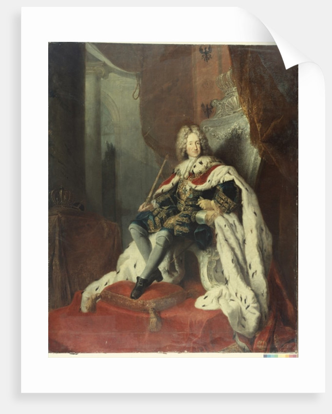 King Frederick I of Prussia by Antoine Pesne