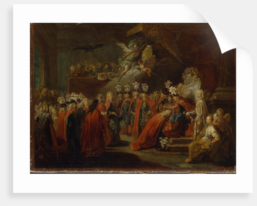 Founding of the Order of the Black Eagle by Antoine Pesne