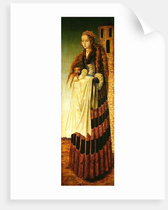 St. Barbara by Lucas