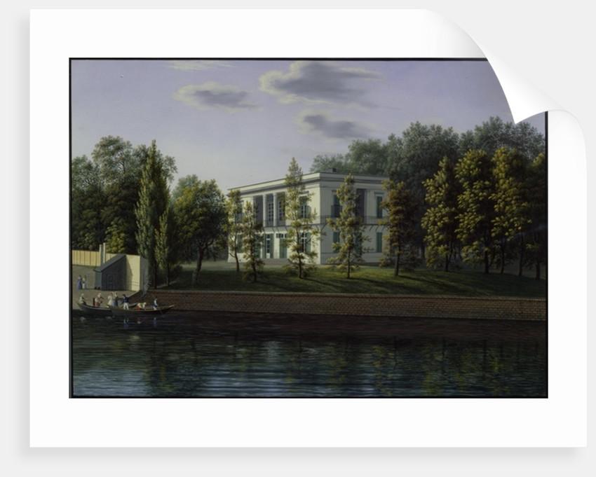 The new pavilion in the gardens of Charlottenburg Palace by Johann Wilhelm Gottfried Barth