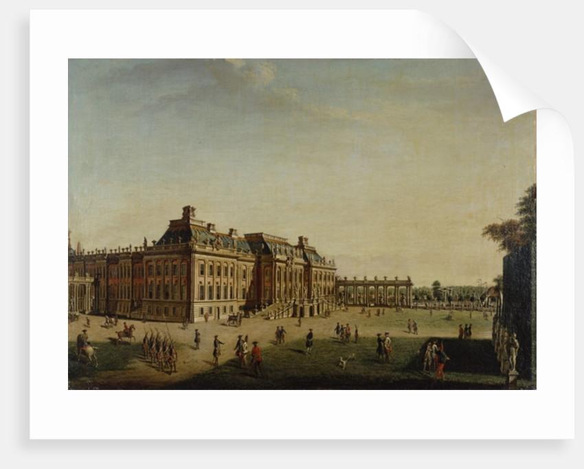 The garden front of the town castle by Johann Friedrich Meyer