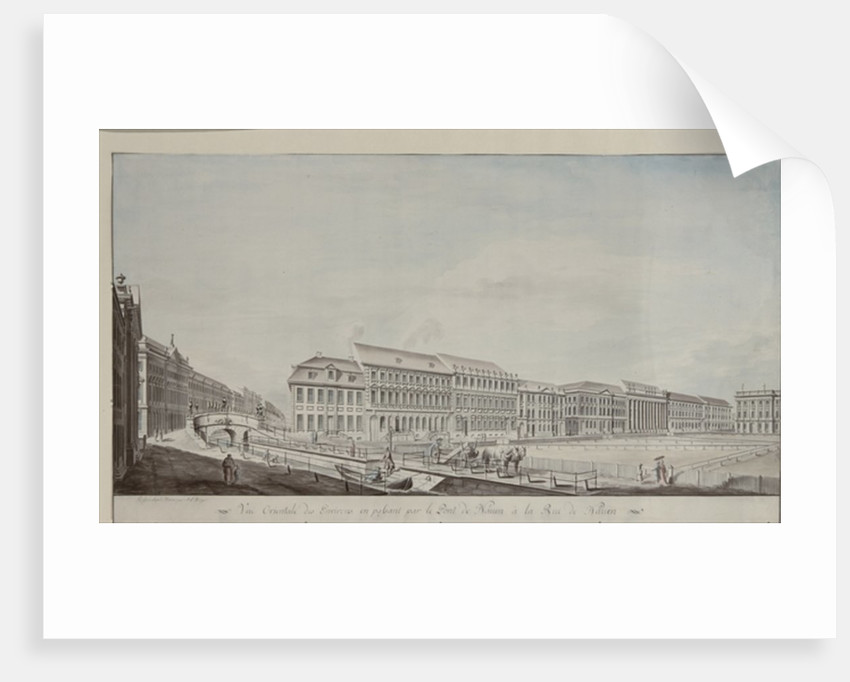 West aspect of Wilhelmsplatz by Andreas-Ludwig Kruger