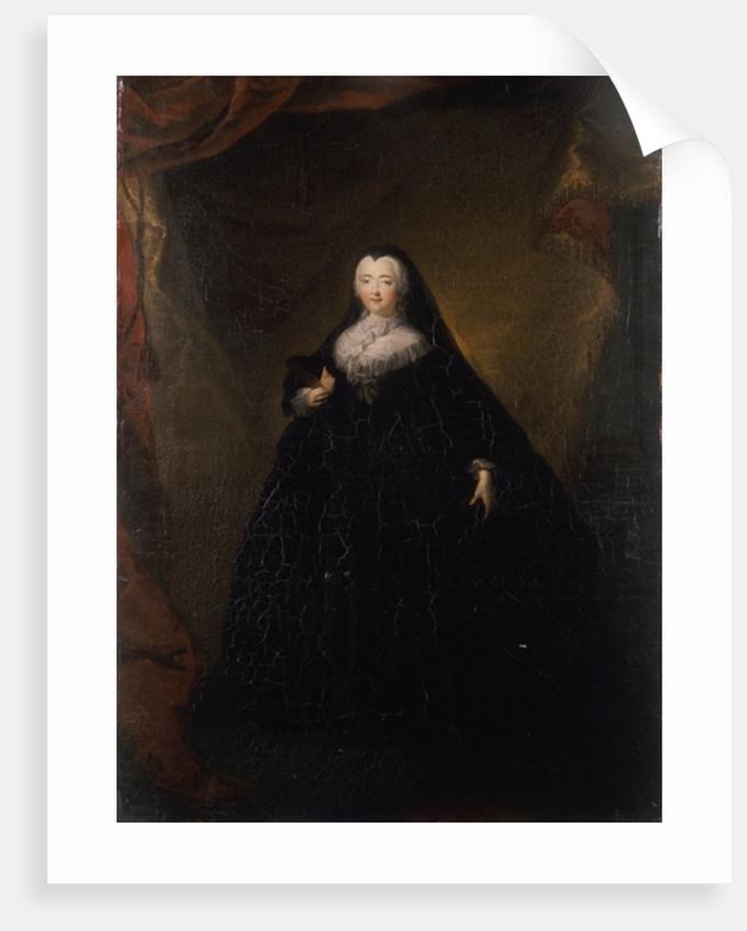 Empress Elizabeth in Black Domino by Georg Christoph Grooth