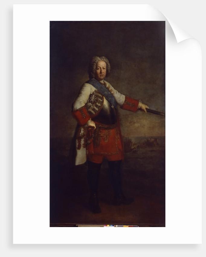 Count Friedrich Heinrich von Seckendorf by Antoine Pesne