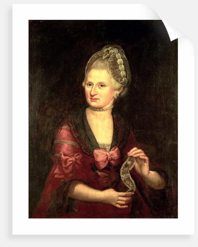 Anna Maria Mozart Nee Pertl Mother Of Wolfgang Amadeus