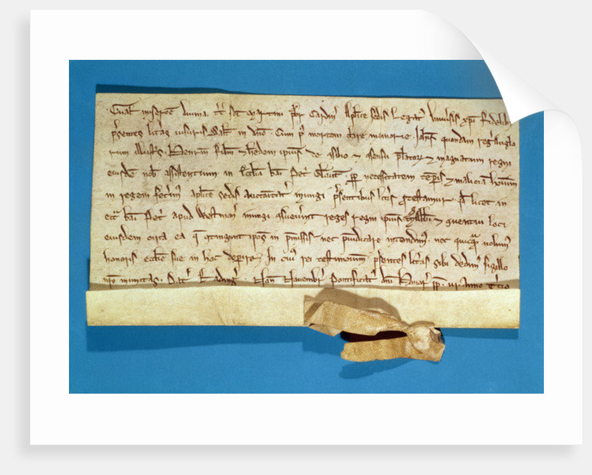 A formal protest over the anointment of Henry III in Gloucester by Italian School